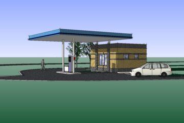 Проектирование азс и нефтебаз